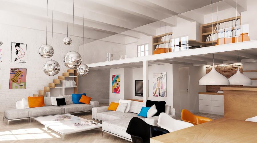 Znalezione obrazy dla zapytania loft projekt